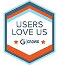 G2 Users love us logo