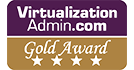 VirtualizationAdmin Gold award logo